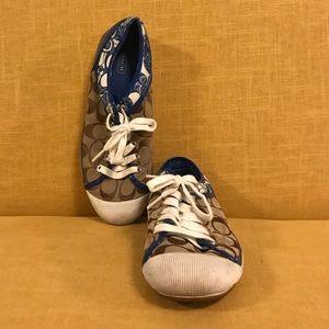 Coach Sneakers - Blue Trim